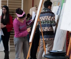 aula Artes - IAD Foto Caíque Cahon