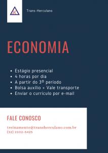 Vaga de estágio - Economia
