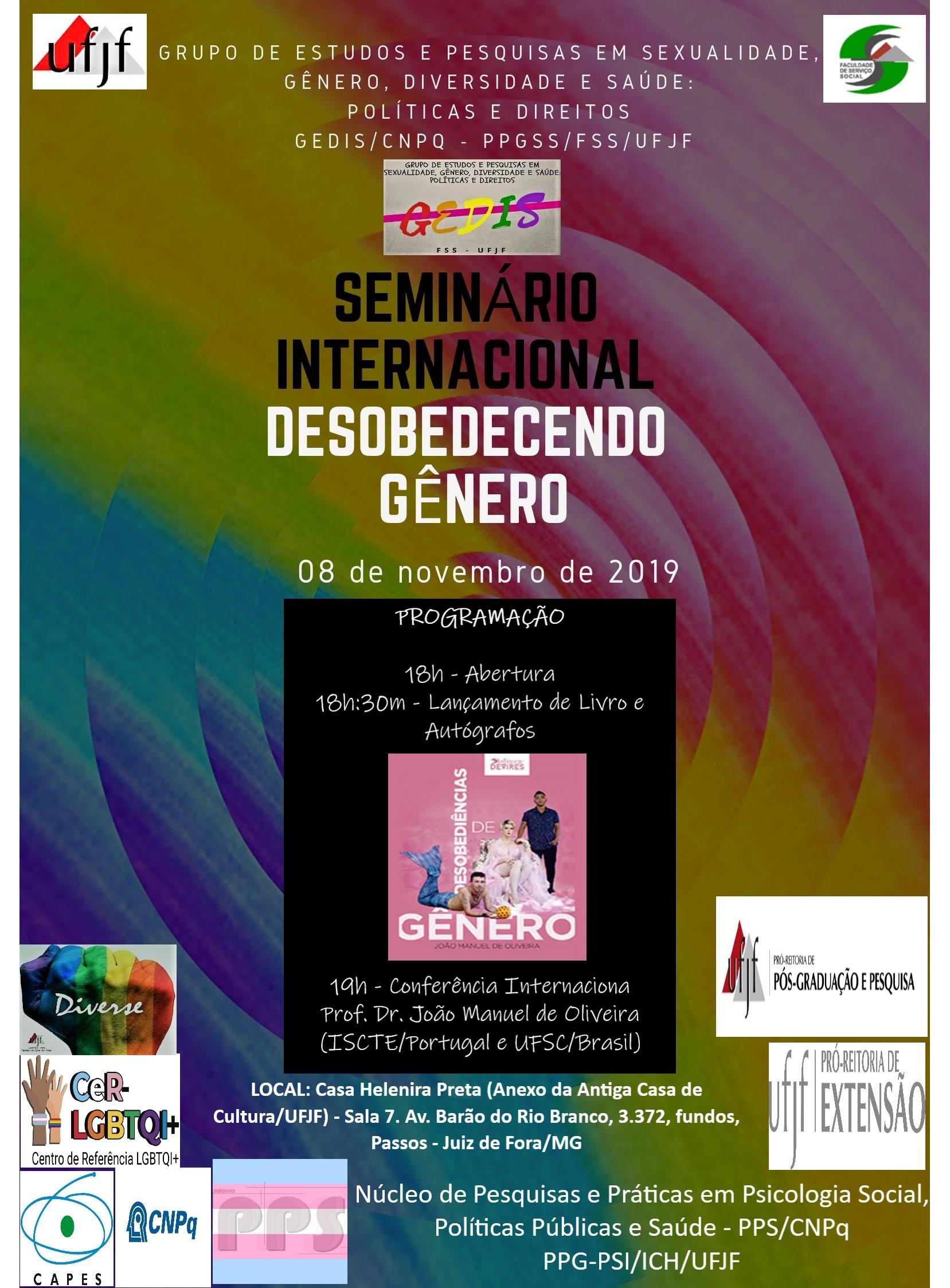 Seminário internacional GEDIS final