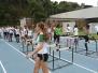 Alunos do Projeto de Extensão Minas Olímpica no do V Camping de Atletismo