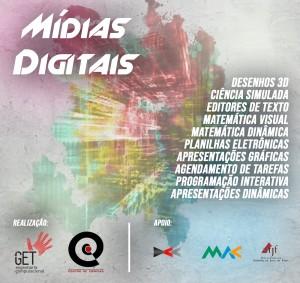 Cartaz do Mídias Digitais 2018.