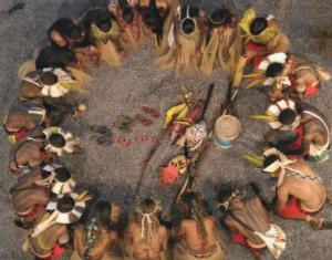 """Grupo de pesquisa """"Religiões e Religiosidades Indígenas"""" recebe o professor da Unimontes, Heiberle Horácio, para palestra no ICH sobre religiosidade do povo Xakriabá"""