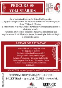 CHAMADA DE VOLUNTÁRIOS.2018.2