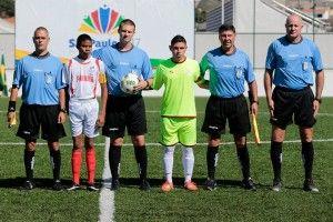 Professor Igor Monteiro - Árbitro na Copa do Mundo Sub-19 de Futebol de 7 para atletas com Paralisia Cerebral