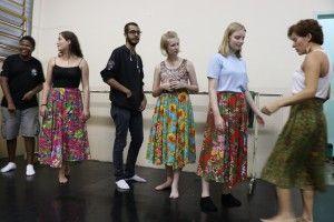 Dinamarqueses -Aula de Dança