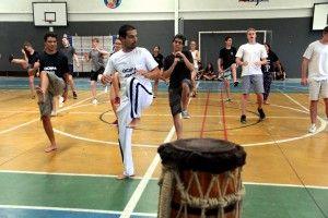 Capoeira com Dinamarqueses