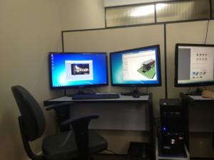 Recursos de hardware disponíveis no LITEC