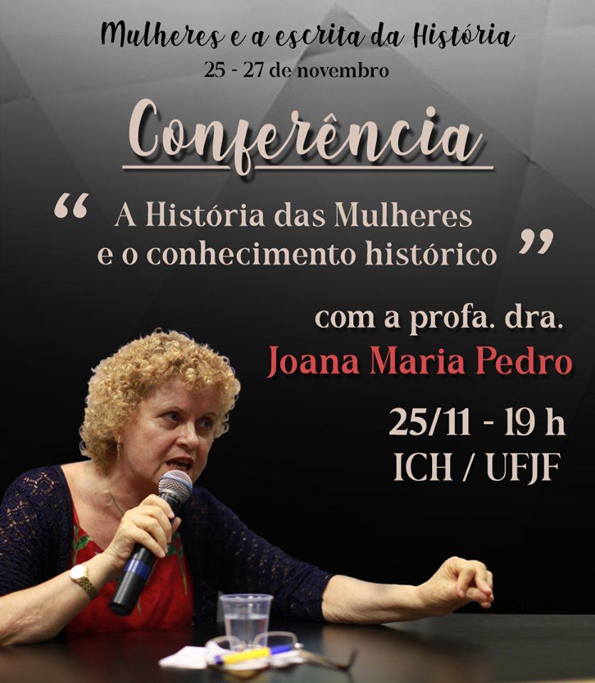 """A professora Joana Maria Pedro será responsável pela abertura do nosso evento, com a importante conferência """"A História das Mulheres e o conhecimento histórico"""".  Professora da UFSC, pesquisadora do Instituto de Estudos de Gênero (IEG/UFSC) e autora de diversos livros e artigos que problematizam e investigam o feminismo e as relações de gênero no Brasil, Joana Maria Pedro é uma grande referência na escrita da história das mulheres."""