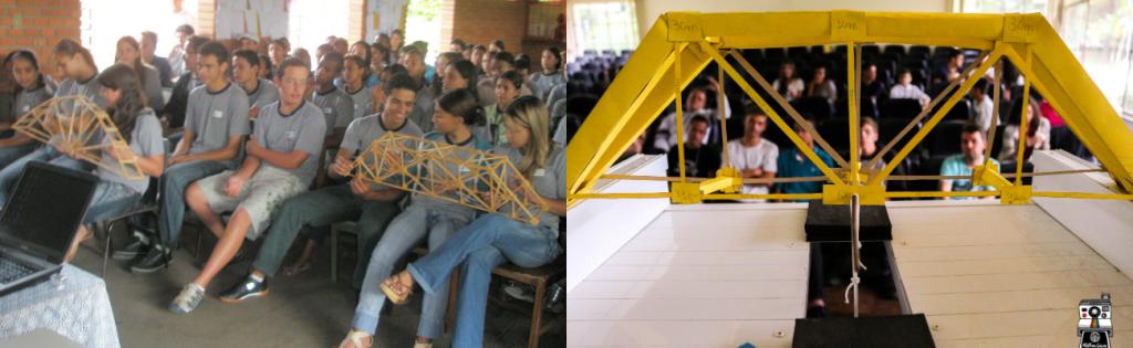 1. I Concurso de Pontes na Escola Teodoro Coelho (2008) 2. VII Concurso de Pontes de Papel para as Escolas Públicas de Juiz de Fora (2019)