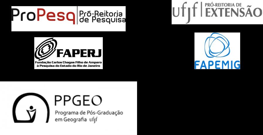 Logos apoio PPGEO