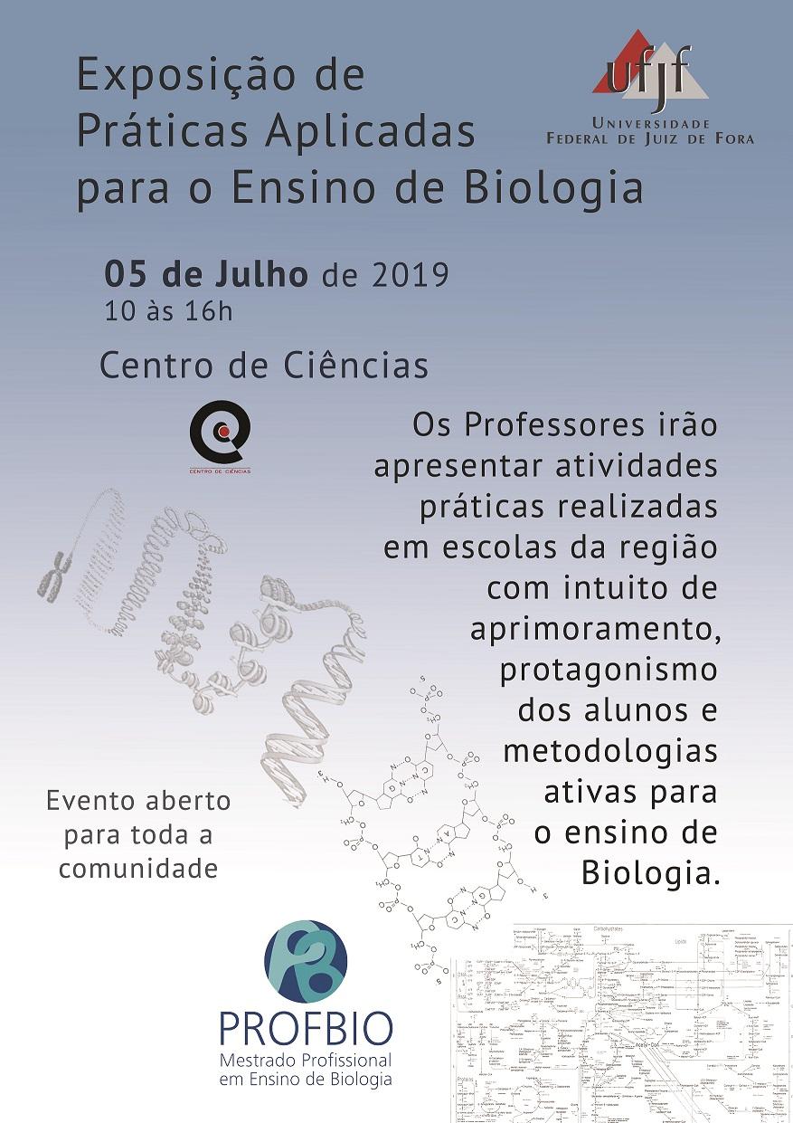 Cartaz evento PROFBIO 1