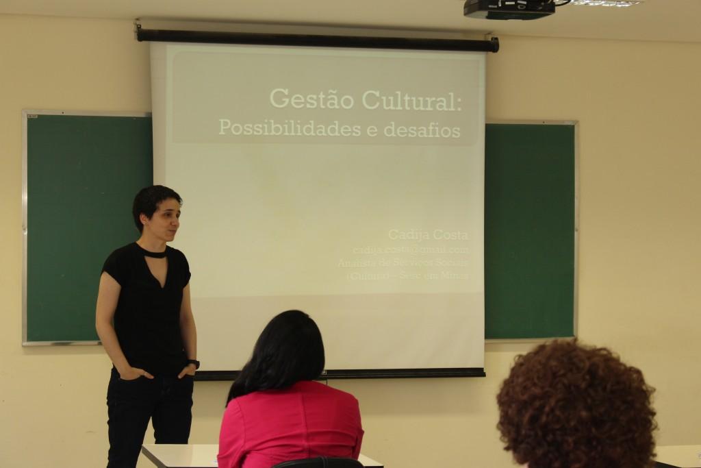 Mini Curso Gestão Cultural: Desafios e possibilidades